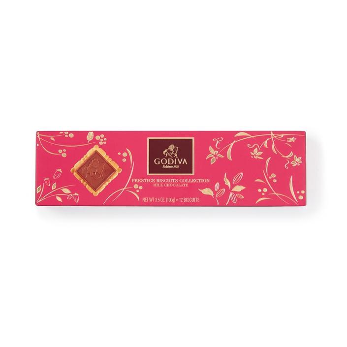 Lady Godiva Sütlü Çikolatalı Bisküvi, 12 adet