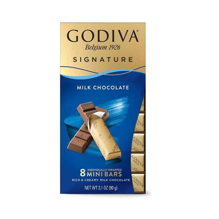Godiva Mini Bars Sütlü, 8 Adet Stick