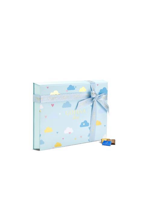 Godiva Mavi Bebek Kutu, 128 Adet Napoliten Çikolata