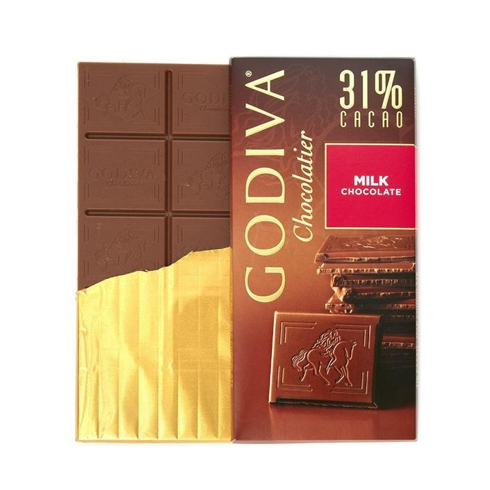 Godiva Sütlü Tablet Çikolata, 100 gr.