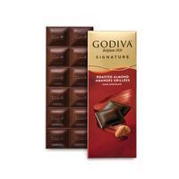 Godiva Kavrulmuş Bademli %72 Bitter Tablet Çikolata, 90 gr