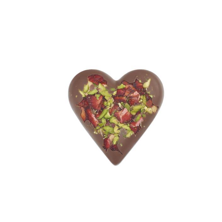 Godiva Sütlü Kalp Bark, 90 gr